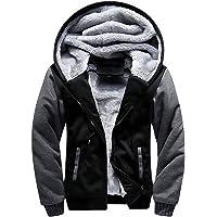 Men's Zip Up Hoodie Heavyweight Winter Sweatshirt