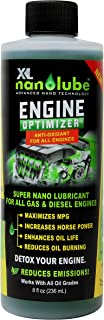 XL Nanolube Engine Oil Additive & Nano Treatment; Reduces Oil Burning & Engine Smoke; Works w/Synthetic & All Oil; Great for Diesel & Gas Engine, Great for Light & Heavy Duty w/ 2 or More