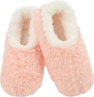 Snoozies Butter Fur Slumbies Slippers | Womens Slippers | Womens House Shoes | Peach | Large
