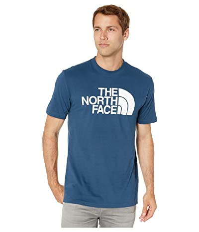 The North Face Short Sleeve Half Dome T-Shirt (Blue Wing Teal/TNF White) Men