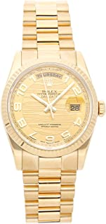 Rolex Day-Date Mechanical (Automatic) Champagne Dial Mens Watch 118238 (Certified Pre-Owned)