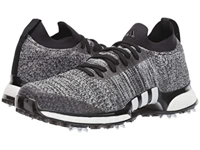 adidas Golf TOUR360 XT Primeknit (Core Black/White/Silver Metallic) Men