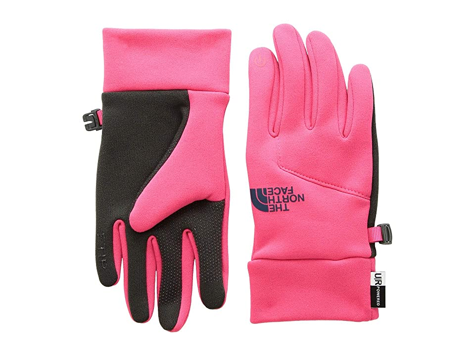The North Face Kids Etiptm Gloves (Big Kids) (Atomic Pink) Extreme Cold Weather Gloves