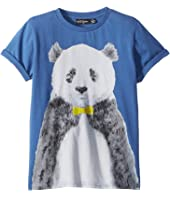 Rock Your Baby - Panda Short Sleeve Tee (Toddler/Little Kids/Big Kids)