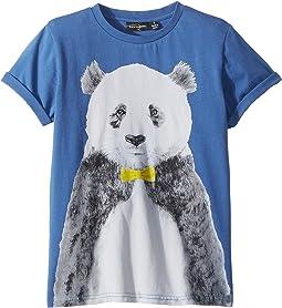 Rock Your Baby - Panda Short Sleeve Tee (Toddler/Little Kids/Big Kids)