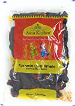Asian Kitchen (By Rani Brand) Kashmiri Chilli Whole, Low Heat Indian Chilli 7oz (200g) ~ All Natural | Vegan | Gluten Free Ingredients | NON-GMO | Indian Origin