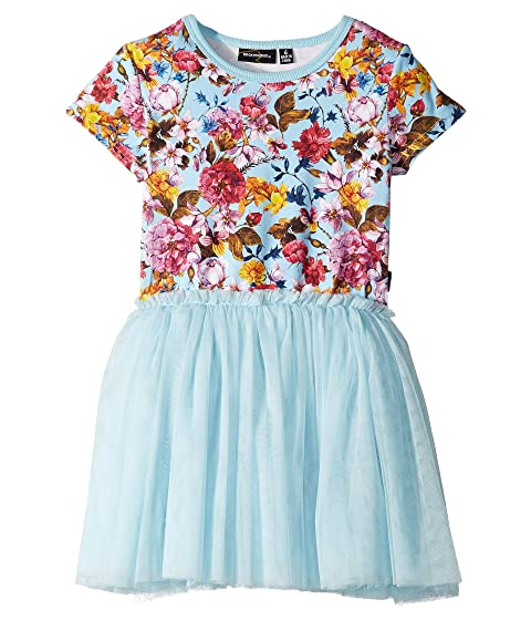 Rock Your Baby Nothing But Flowers Short Sleeve Circus Dress (Toddler/Little Kids/Big Kids)