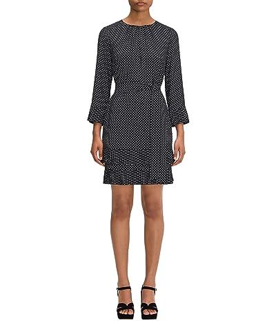 Kate Spade New York Dainty Dot Dress (Black) Women
