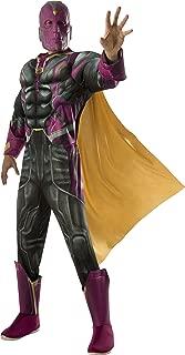 Rubie's Men's Captain America: Civil War Deluxe Muscle Chest Vision Costume