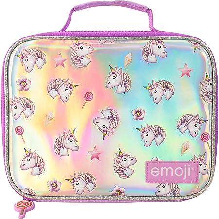 Emoji Kinder Lunchpaket Einhorn Lila