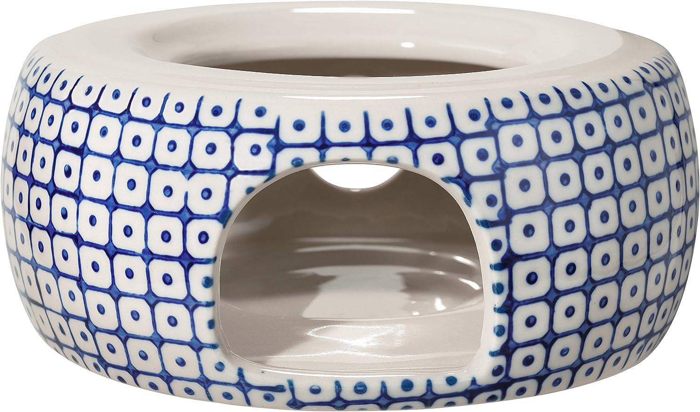Bloomingville Teapot Max 49% OFF Warmer Carla blue Same day shipping