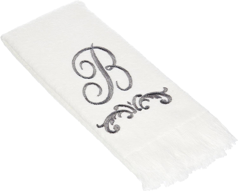 Avanti Linens Factory outlet 13444WPW Monogrammed Gifts Towel Fingertip B