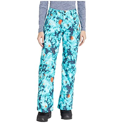 The North Face Sally Pants (Transantarctic Blue Snowfloral Print) Women