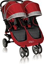 Baby Jogger 2012 City Mini Double Stroller, Crimson/Gray (Discontinued by Manufacturer)