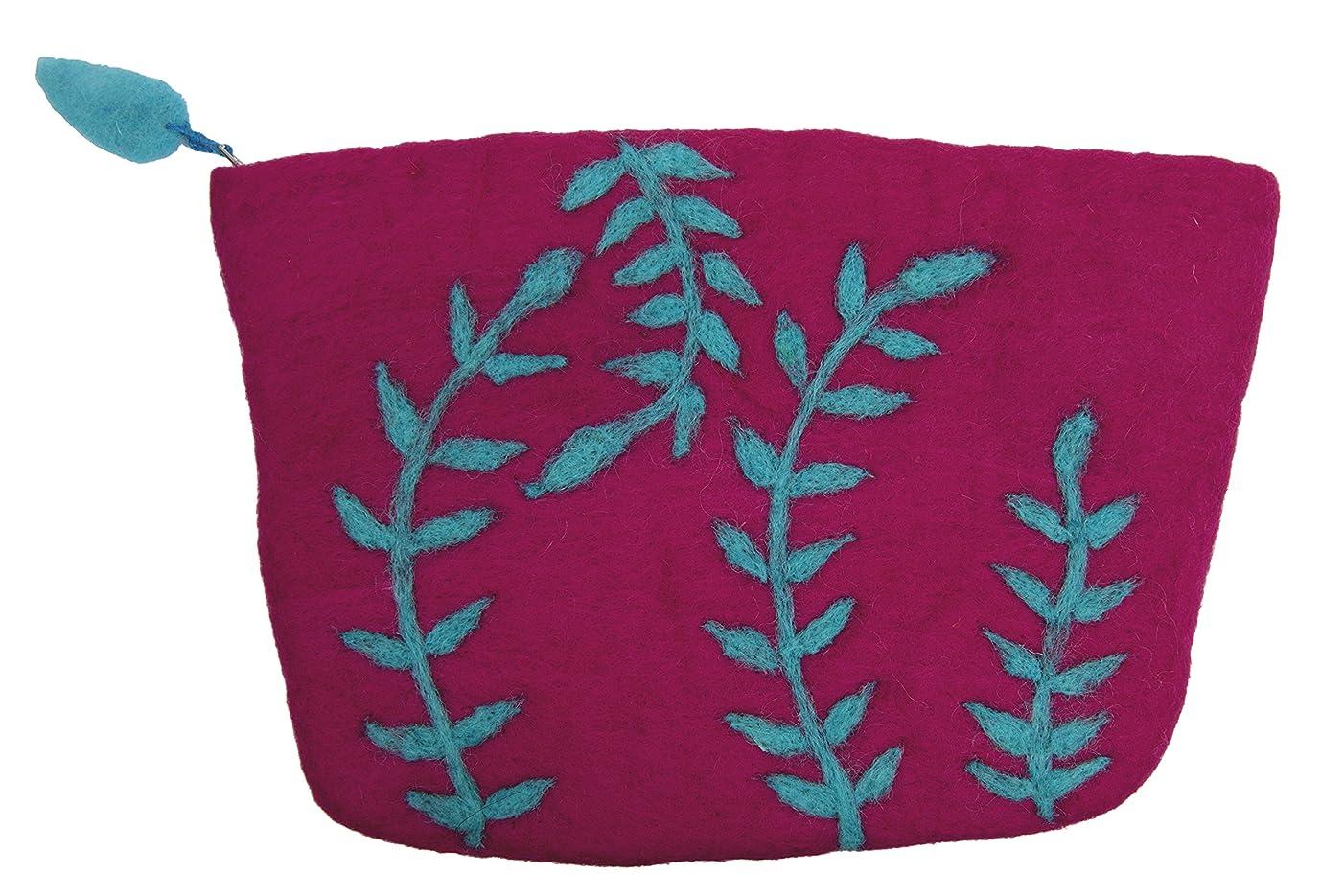 Frabjous Fibers Seagrass Notions or Needlecase Bag (Fuchsia)