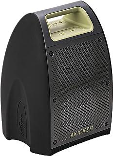 "Kicker Bullfrog BF400 Bluetooth Portable Outdoor Speaker | 360° Sound Waterproof Dustproof Powerful 20 Watt AMP 3"" Full Ra..."