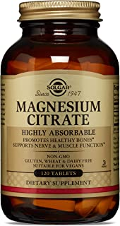 Best solgar magnesium citrate 400 mg 60 tablets Reviews