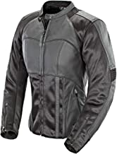 Joe Rocket Radar Women's Leather Motorcycle Riding Jacket