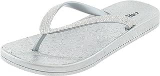 6702482b4 Capelli New York Girls Fashion Flip Flops with Gem and Rhinestone