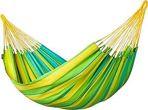 LA SIESTA - Sonrisa Lime - Hamaca clásica Individual outdoor