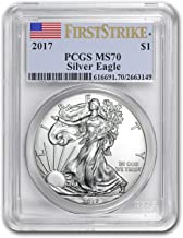 2017 Silver American Eagle MS-70 PCGS (First Strike) 1 OZ MS-70 PCGS