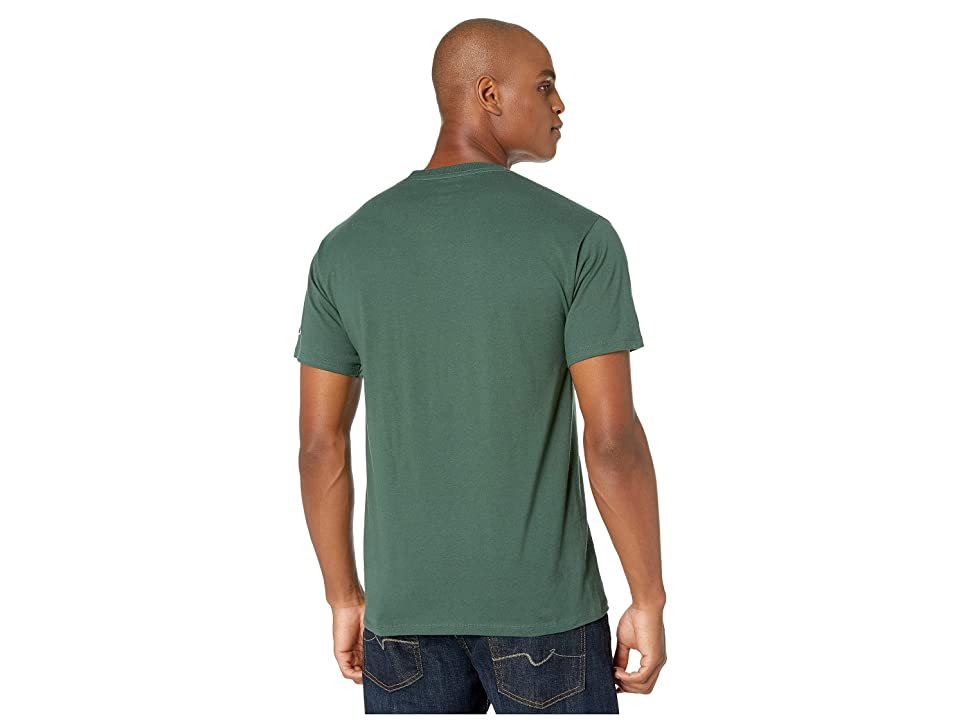 Champion Classic Jersey Graphic Tee (Dark Green) Men's Clothing