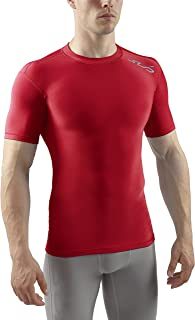 Sub Sports Mens Winter Warm Vest Short Sleeve Thermal Base Layer Cold