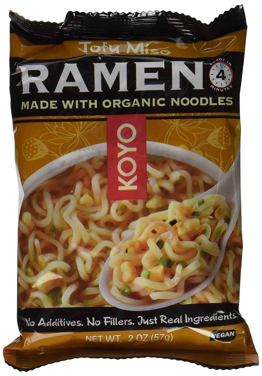 Koyo Tofu and Miso Ramen Pack Packages of Store 12 2-Ounce Japan Maker New