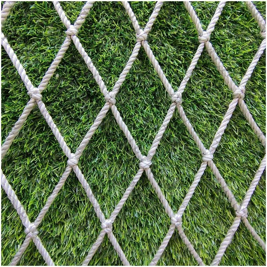 Mesh Netting,Garden Net Rope Netting Plant Trellis Fencing Fence Mesh Cargo Net for Kids Safety Net Patio Protective Child Cotton Wall Decor,for Railings Children Railing Plants Decoration Protection