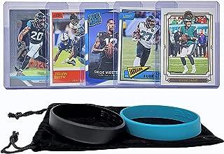 Jacksonville Jaguars Cards: Nick Foles, Leonard Fournette, Dede Westbrook, Telvin Smith, Jalen Ramsey ASSORTED Football Trading Card and Wristbands Bundle
