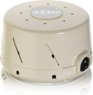 Marpac Dohm-SS Single Speed All-Natural White Noise Sound Machine, Actual Fan Inside, Tan