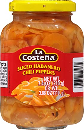 La Costena Habanero Peppers 7.4oz