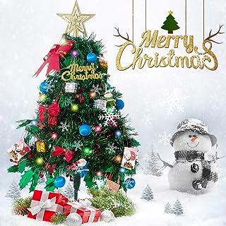 20cm Mini Christmas Ornaments Party Xmas Tree DIY Table Desk Holiday Decoration