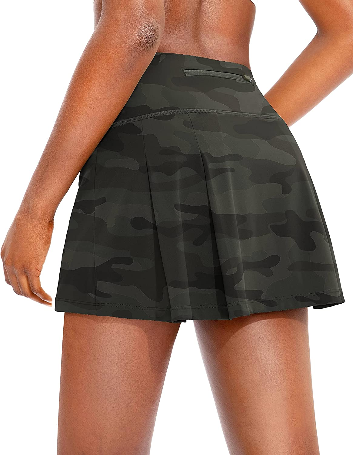 Popular brand in the world Soothfeel Pleated Tennis Skirt for Pockets with Women Outlet sale feature Women's Hi