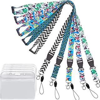 YOUOWO Cruise Lanyard with id Badge Holder for Ship Card Women Kids Keys Men Quick Release Breakaway Safety Lanyards Wide 0.79inch