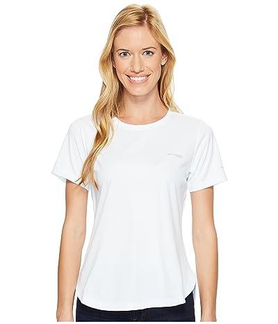 Columbia PFG Zero II Short Sleeve Shirt (White) Women