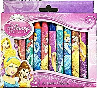 Disney Princess 12 Jumbo Crayons