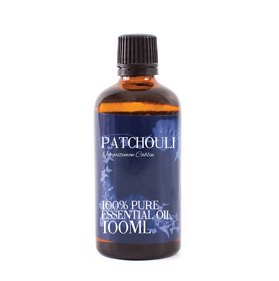奇跡的な租界残り物Mystic Moments | Patchouli Essential Oil - 100ml - 100% Pure