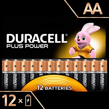 Duracell Plus Power Piles Alcalines Type AA, Lot de 12 Piles (Visuel non Contractuel)