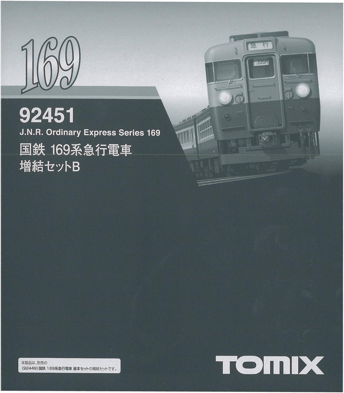 J.N.R. Express Series 169 (Add-on 3-Car Set  B) (Model Train) (japan import)