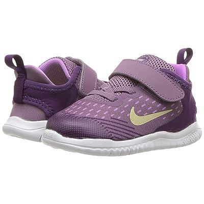 Nike Kids Free RN 2018 (Infant/Toddler) (Violet Dust/Metallic Gold Star/Night Purple) Girls Shoes