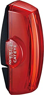 comprar comparacion Cat Eye Rear Piloto CATEYE Trasero Rapid X2 Kinetic, Unisex Adulto, Negro, sin información