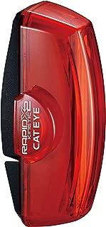 キャットアイ(CAT EYE) テールライト RAPID X2 KINETIC TL-LD710K 加速度センサー内蔵 USB充電式 グッドデザイン賞受賞