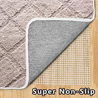 Enjoy Holiday 1981 Non Slip Area Rug Pad - 2 × 3, Non Toxic Area Runner Rug Pad for Hardwood Floor, Super Strong Grip, Provides Protection and Cushion
