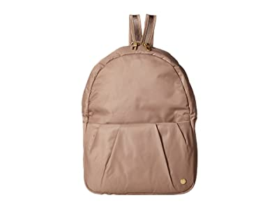 Pacsafe Citysafe CX Anti-Theft Convertible Backpack to Crossbody (Blush Tan) Backpack Bags