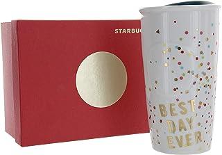 "Starbucks Confetti "" Best Day Ever"" Double Wall Traveler, 12 Fl Oz (11051192)"