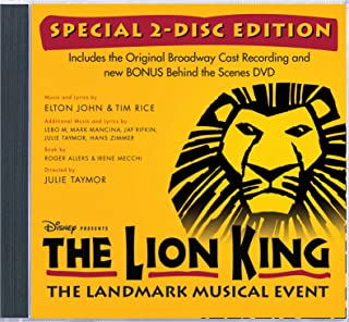 The Lion King Original Broadway Cast Recording Special Edition