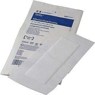 Covidien 7541 Telfa Adhesive Island Dressing, Sterile 1's in Peel-Back Package, 4