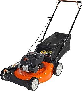 BLACK+DECKER 21 pulgadas 140cc 3 en 1 a gas a pie detrás de la cortadora de empuje - capacidades de descarga lateral, mantillo y ensacado, negro y naranja