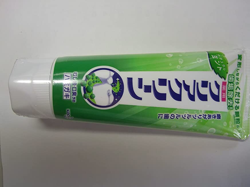 規制する反響する集団的花王 クリアクリーンナチュラルミント 130g (医薬部外品)